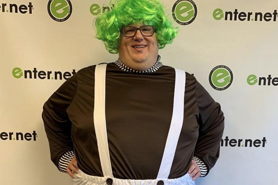 Steve in costume