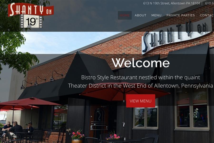 Shanty Webpage