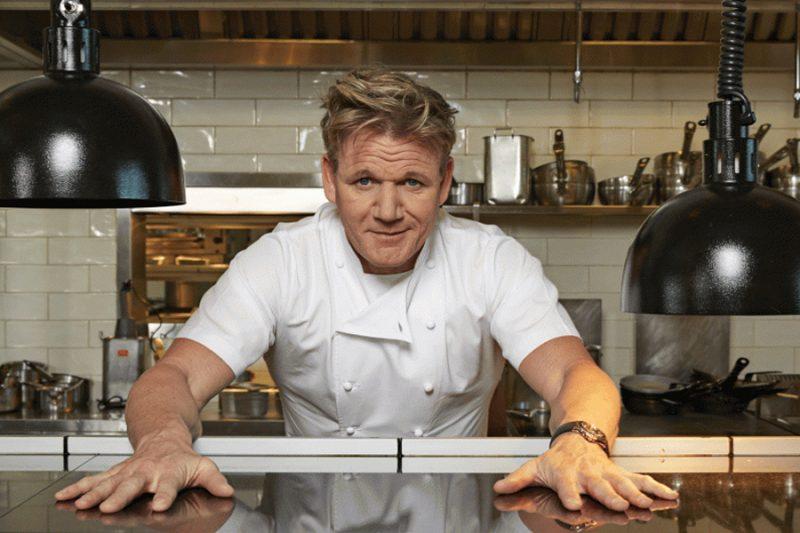 Gordon Ramsy in Kitchen