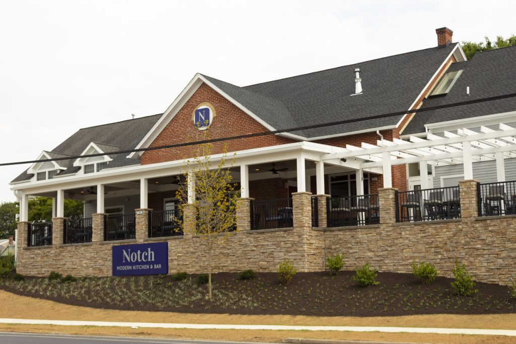 Exterior of Notch Modern Kitchen & Bar